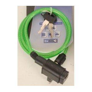 Fahrrad Kabelschloss, Fahrradschloss, 1m, grün, LHS-40318