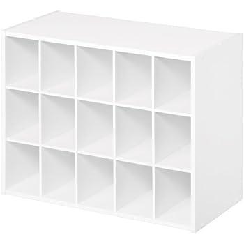 ClosetMaid 8505 15 Cube Organizer, White
