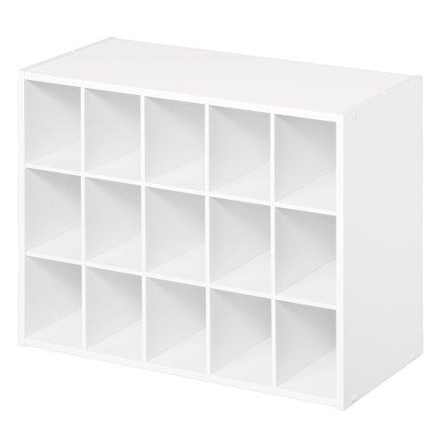 ClosetMaid 8505 15-Cube Organizer, White