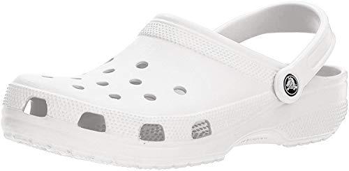 Crocs Classic Clog | Comfortable Slip on Casual Water Shoe, White, 9 M US Women / 7 M US Men from Crocs