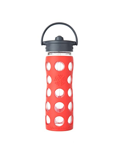 Lifefactory 16 Ounce BPA Free Bottle Silicone