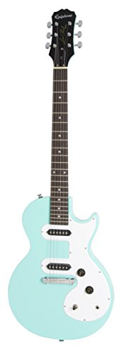 Epiphone ENOLTQCH1 Solid Body Electric Guitars Les Paul SL, Turquoise (Epiphone Les Paul Special Ii Electric Guitar Black)