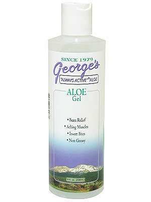 (George's Aloe Vera Gel, 8 Ounce )