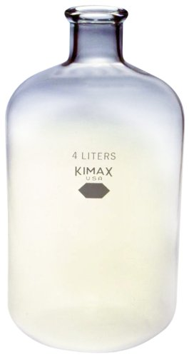 Kimax, Heavy-Duty Serum Bottle, 4L