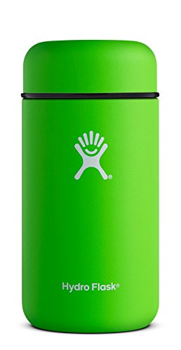 Hydro Flask 18 oz Leak Proof Double Wall Vacuum Insulated Stainless Steel BPA Free Food Flask Thermos Jar, Kiwi