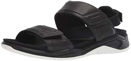 ECCO Women's X-Trinsic Sandal, Black Leather, 41 M EU (10-10.5 US) (Athletic Shoes Ecco Womens)