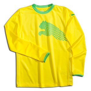 PUMA Cat Youth Goalkeeper Jersey Yellow-YL