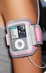 XtremeMac Sportwrap Lightweight Neoprene Sport Armband Pink for iPod Nano 3G