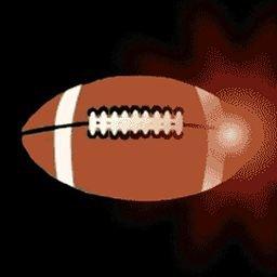 Football 2 Flashing Body Light Lapel Pins