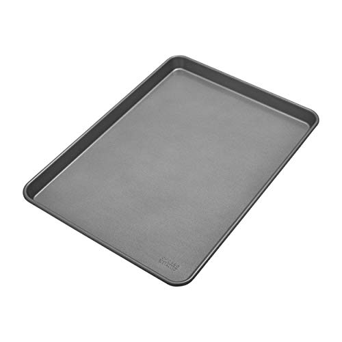 - Chicago Metallic Commercial II Non-Stick Jelly Roll Pan, 17-1/2 by 12-1/2 Inch