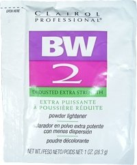 CLAIROL Professional BW 2 Dedusted Extra Strength Powder Lightener 1oz/28.3g (One Application) - Bleaching Powder