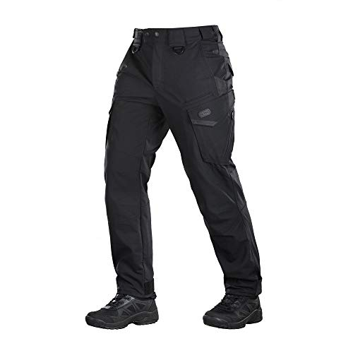 M-Tac Tactical Pants Aggressor Police Law Enforcement Cargo Pockets (Black, W36 / L32) ()