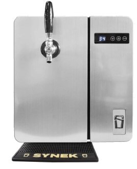 SYNEK Countertop Craft Beer Dispenser (Stainless Steel) For Sale