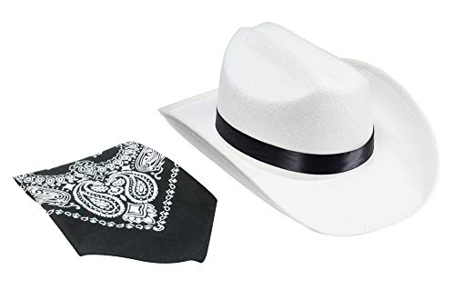 Aeromax Junior Cowboy Hat with Bandanna, ()