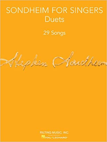 sondheim for singers duets 29 songs