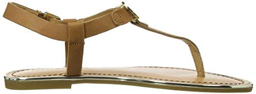 Tommy Hilfiger JULIA 26A - Sandalias de cuero para mujer marrón - Braun (SUMMER COGNAC 929)