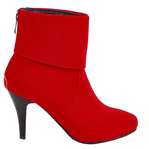 Aiyoumei Stivali Donna Donna Rot Aiyoumei Stivali Classici Aiyoumei Aiyoumei Rot Stivali Classici Rot Stivali Classici Donna 4dqTHF4p1w