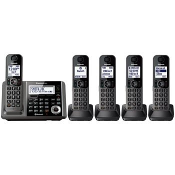 Panasonic KX-TG585 6.0 PLUS Expandable Digital Cordless Answering System