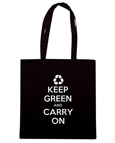 ON CARRY KEEP AND Shopper Borsa GREEN WES0933 Nera S0xwYAYnCH