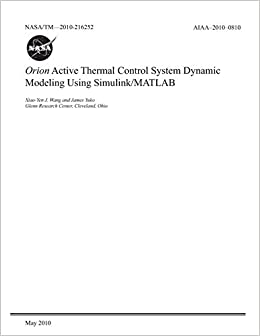 Orion Active Thermal Control System Dynamic Modeling Using Simulink