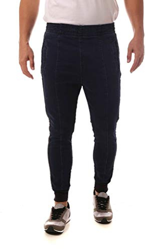 Calça Jeans Denuncia Jogger Azul 38