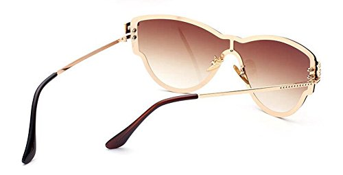 Thé Tranche style vintage lunettes métallique de Double rond en polarisées inspirées Lennon de cercle retro du soleil 0OqZR