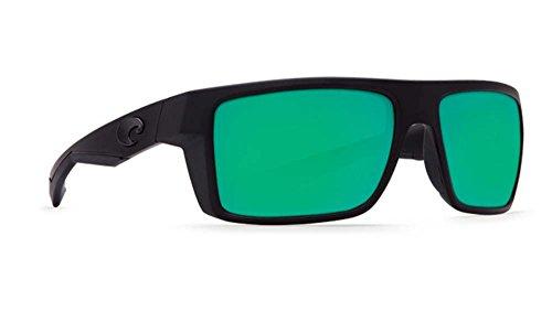Costa Del Mar Motu 580P Motu, Blackout Green Mirror, Green - Motu Mar Costa Del