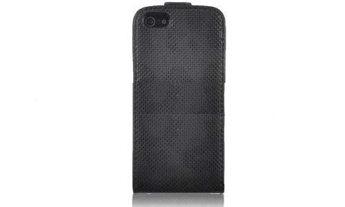 Tasche für Apple iPhone 5 5G Etui Schutz Hülle Cover Flip Case BL #ZML