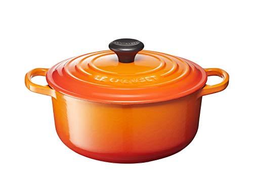 Le Creuset of America LS2501-202 Enameled Dutch Oven, 2.75 qt, Flame