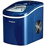 Free Standing Portable Compact Ice Maker Blue