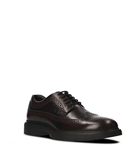 Cuir HXM3040W3626MAR807 Lacets Marron Chaussures Hogan HXM3040W3626MAR807 Cuir À Hogan Homme Marron Homme Chaussures wE78qwI