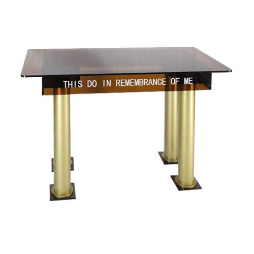 Tawny Acrylic Communion Table 14308 (Acrylic Church Furniture)