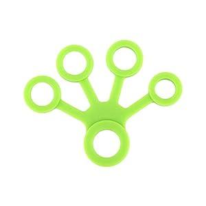 Lywey Finger Stretcher, Exerciser Finger Grip Strengthener Strength Trainer Golf Grip, Guitar Finger, Forearm Exercise