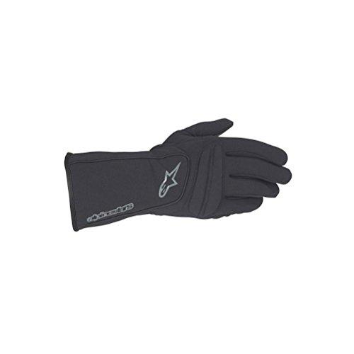 Alpinestars C-2 Windstopper Gloves , Distinct Name: Black, Size: Sm, Gender: Mens/Unisex, Primary Color: Black, Apparel Material: Textile 35201910S