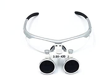 Hot Dental 3.5X Binocular Loupes 420mm Working Distance ...