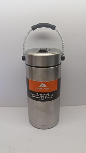 NEW!! Ozark Trail 1/2 Gallon Thermos W/Pop up Straw Double W