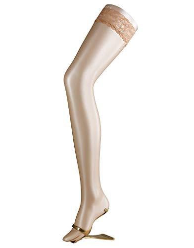 Falke Women's 41526 Shelina Ultra-transparent Slight Shimmer Thigh Highs large (5'5