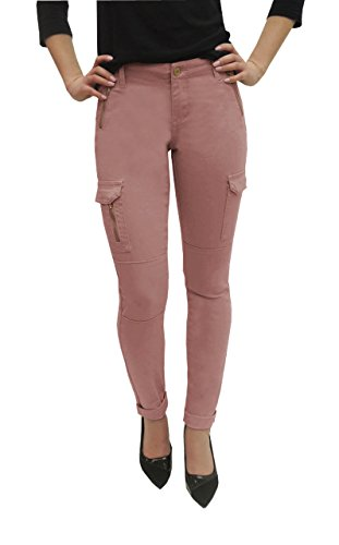 P26 Womens Elite Jeans Skinny Cargo Pant With Zipper Jeans - Elite Denim
