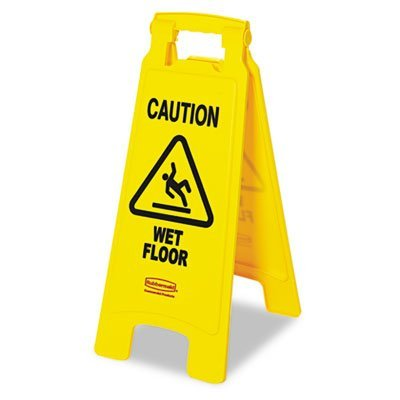 RCP611277YW - Caution Wet Floor Floor Sign by Rubbermaid