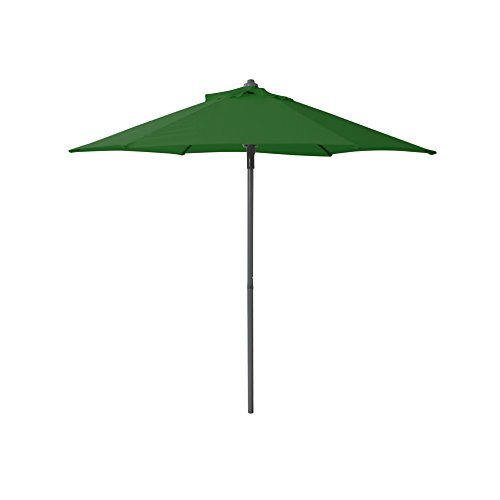 greemotion 438435 Sonnenschirm, Push up 200 cm, 200 x 200 x 200 cm, grün