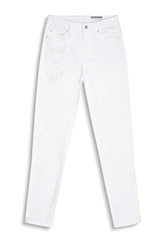 edc by ESPRIT 047cc1b011, Jeans Mujer Blanco (White)