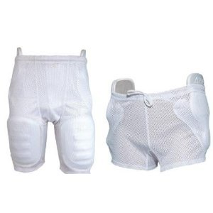 Football Polyester Mesh Girdle (Youth & Adult, 3 and 5 Pocket) (3-Pocket, Adult Small/Medium)
