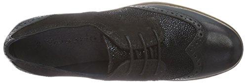 Derbies Noir 23215 Femme Tamaris Noir à Lacets 4x5nx1zq