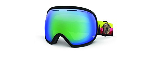 Von Zipper GMSNCFIS Matte Dark Charcoal Fishbowl Visor Goggles Lens Category - Von Womens Goggles Zipper
