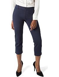 Women's Dress Pant Yoga Pants (Cropped-Leg)