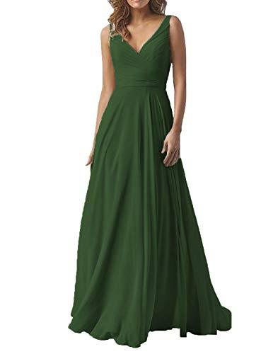 Dresspic Women's Long A-Line Bridesmaid Dress