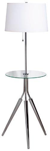 - Kenroy Home 30510CH Rosie Floor Lamp, Chrome