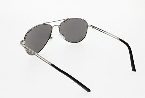 AVIATOR SUNGLASSES - Classic & Stylish Retro Sunglasses Bulk Wholesale (6 Pack) by Sunscape (Image #3)