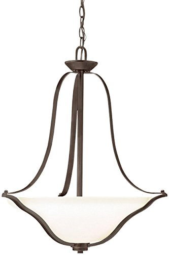 Kichler 3384OZ Langford Pendant 3-Light, Olde Bronze