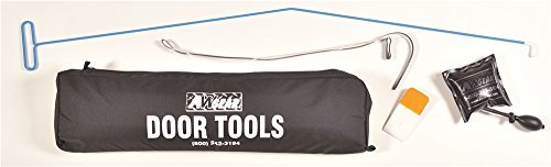 AW Direct TM62K Big Blue Ultimate Long-Reach Car Door Opener Tool Kit with Protective Anti-Scratch Rubber Tip – Includes Vehicle Door Tool, Window Wedge, Air Wedge, Super Strap Tool and Carrying Case